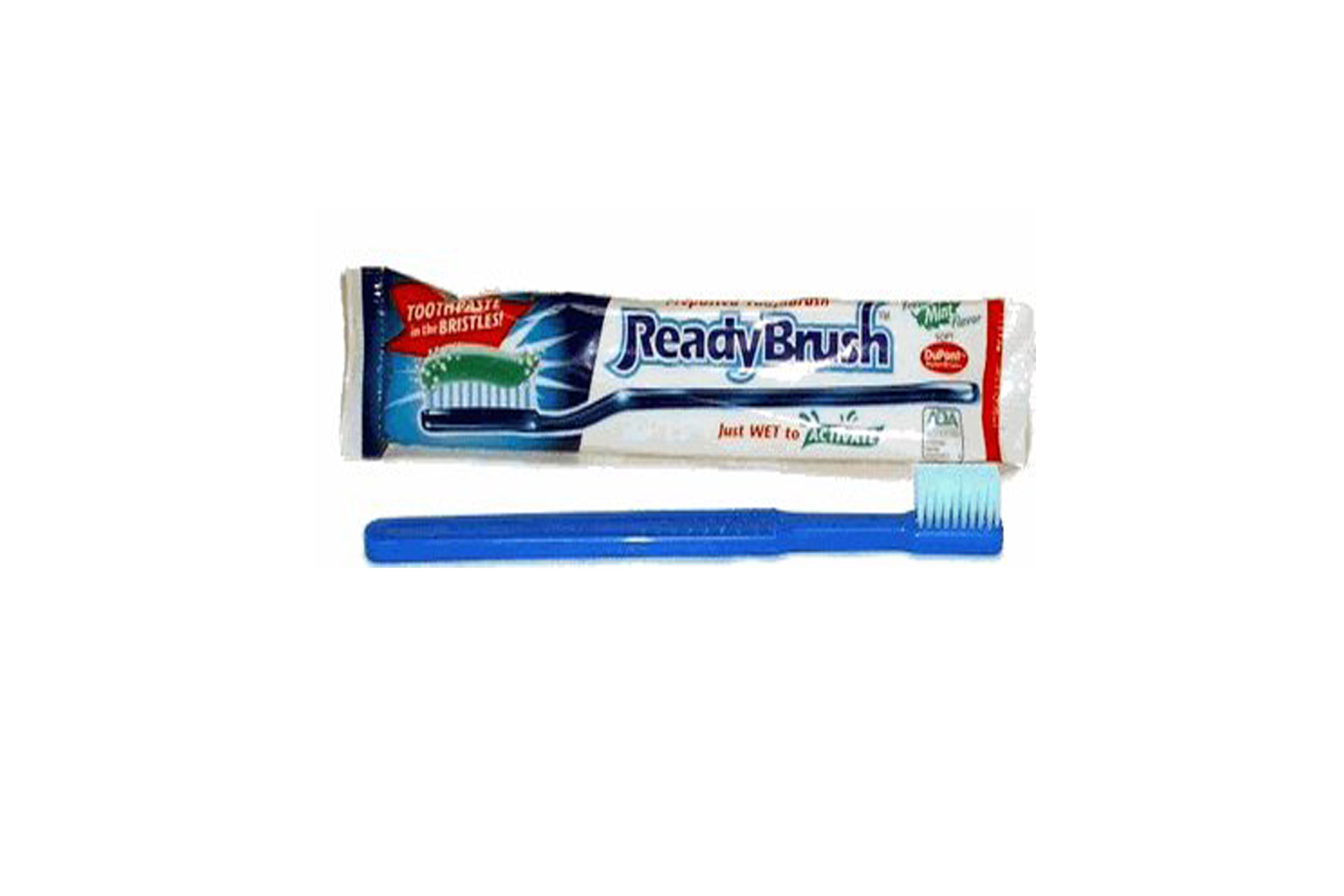 Toothpaste and toothbrush; Courtesy of Amazon