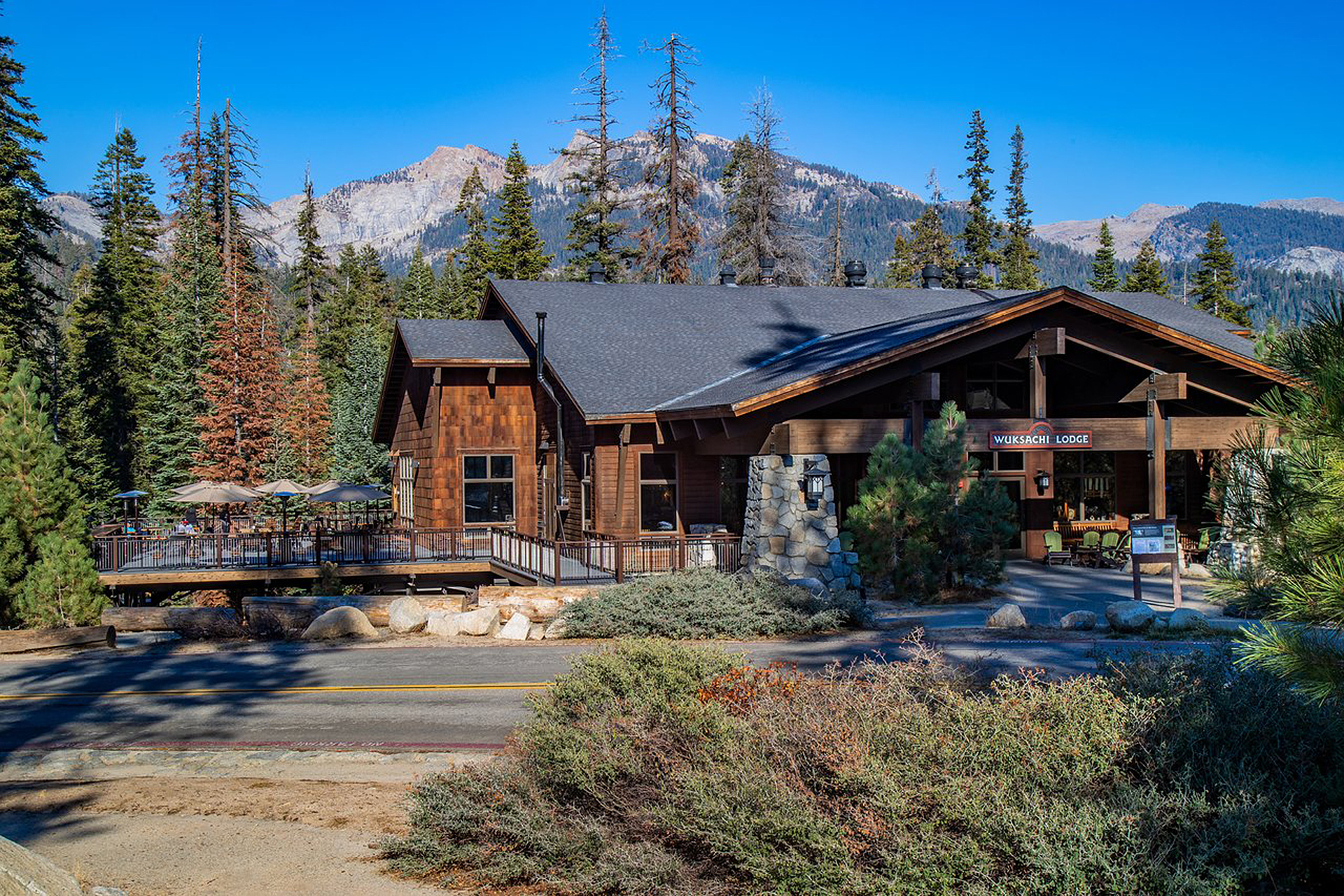 Wuksachi Lodge in Sequoia and Kings Canyon National Park; Courtesy of Wuksachi Lodge