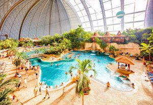 Tropical Islands Water Park in Krausnick, Germany