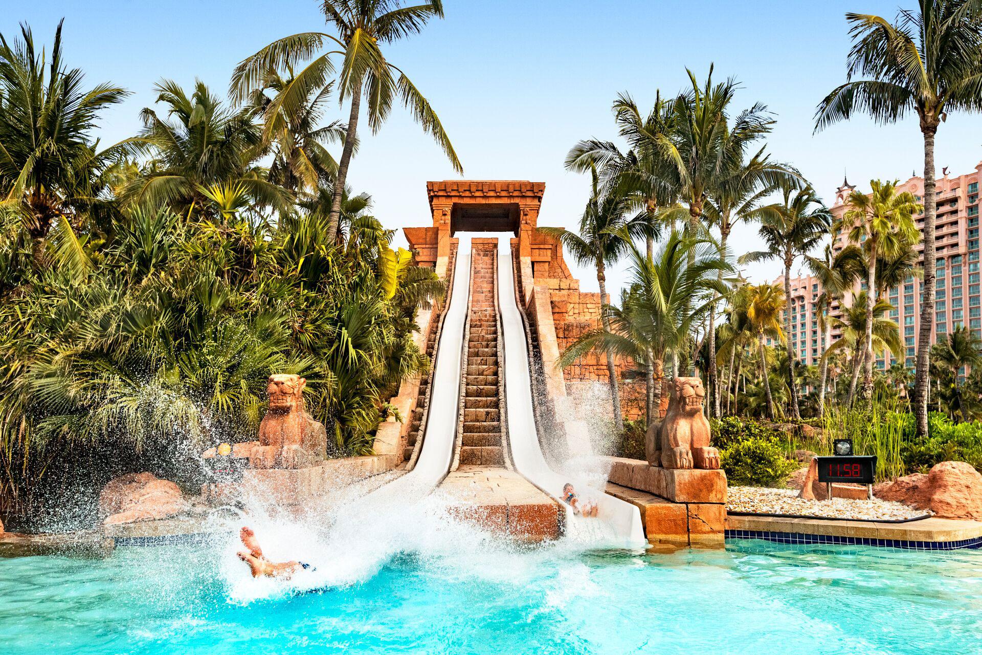 Atlantis Water Slide; Courtesy of Atlantis Resort