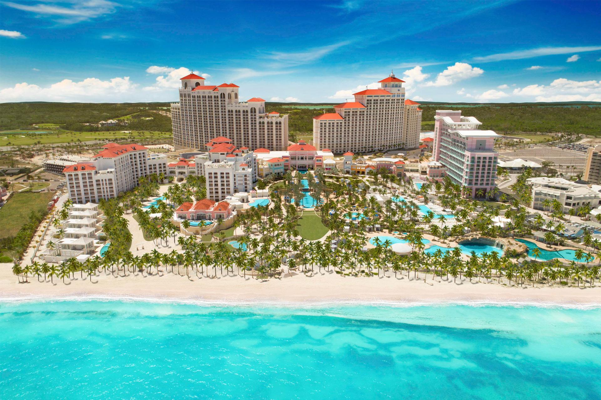 Baha Mar Resort Exterior; Courtesy of Baha Mar Resort