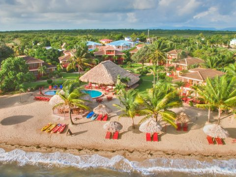 Aerial View of Belizean Dreams Resort; Courtesy of Belizean Dreams Resort