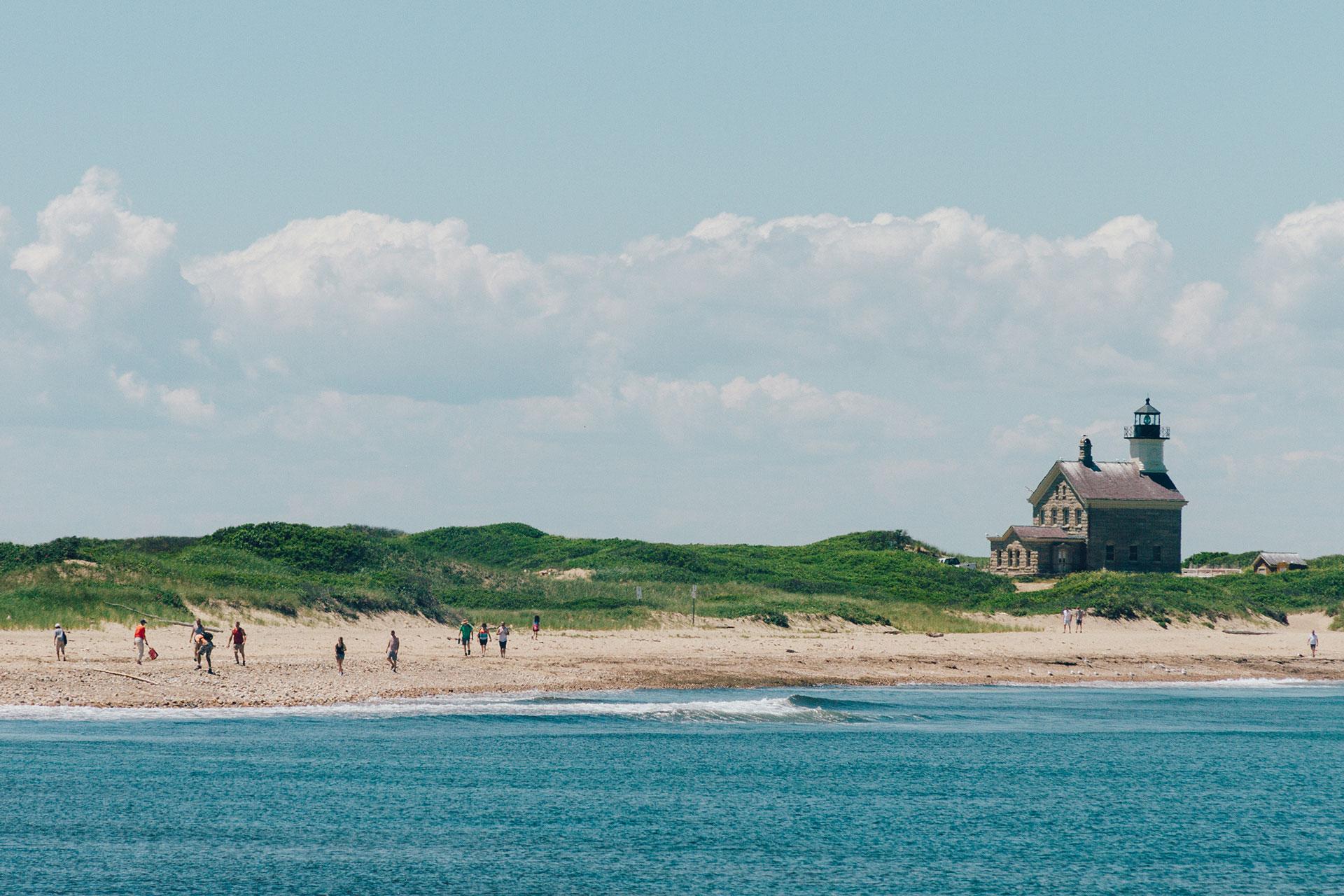 Block Island, Rhode Island; Courtesy of Rhode Island Commerce Corporation