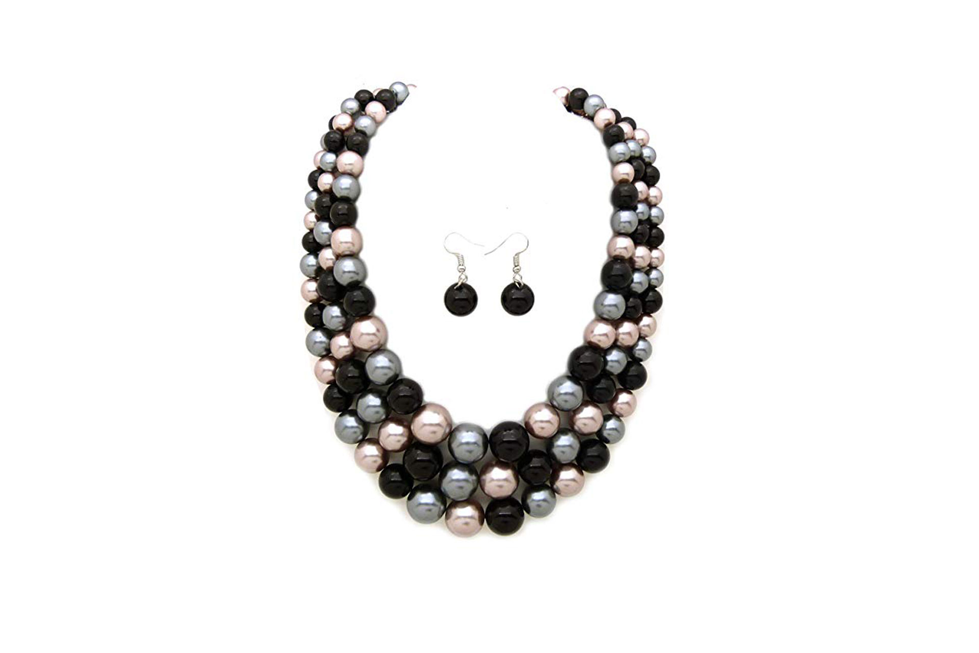 Costume Jewelry Faux Pearl Necklace; Courtesy of Amazon