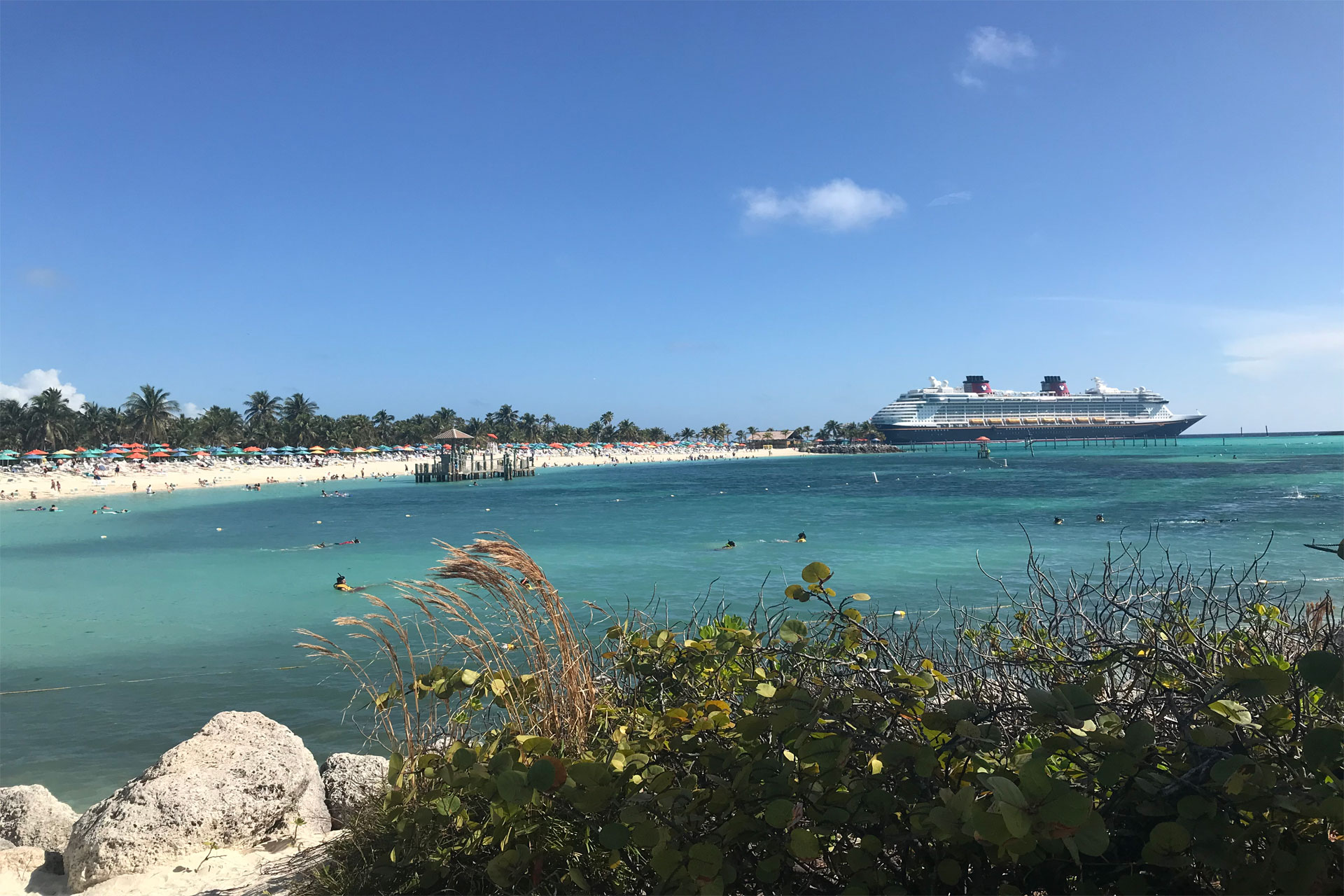 Disney Cruise Line Dream at Castaway Cay; Courtesy of Courtney Elko