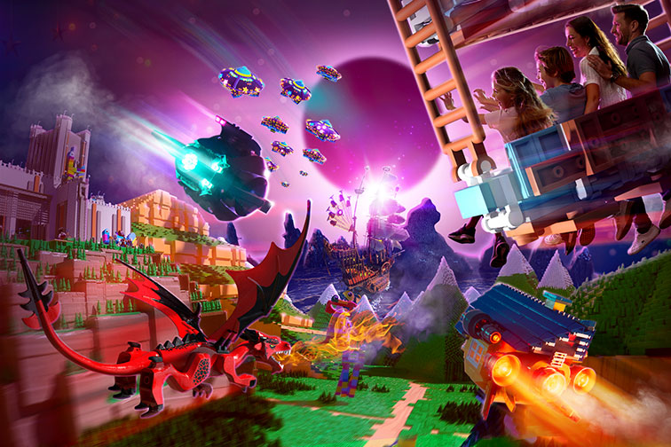 LEGO Movie World at LEGOLAND California