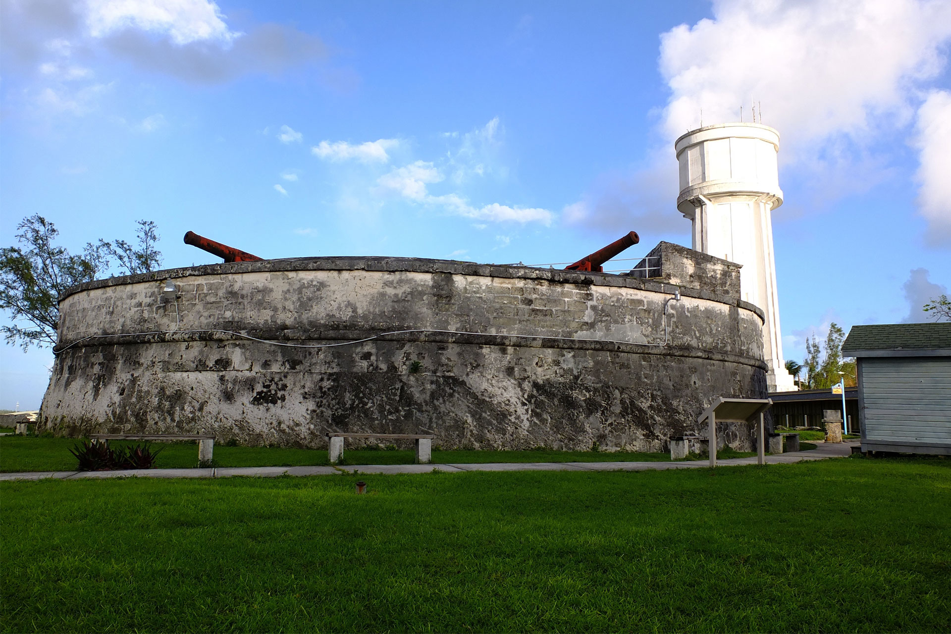 Fort Fincastle in Nassau, Bahamas; Courtesy of Robert Szymanski/Shutterstock.com
