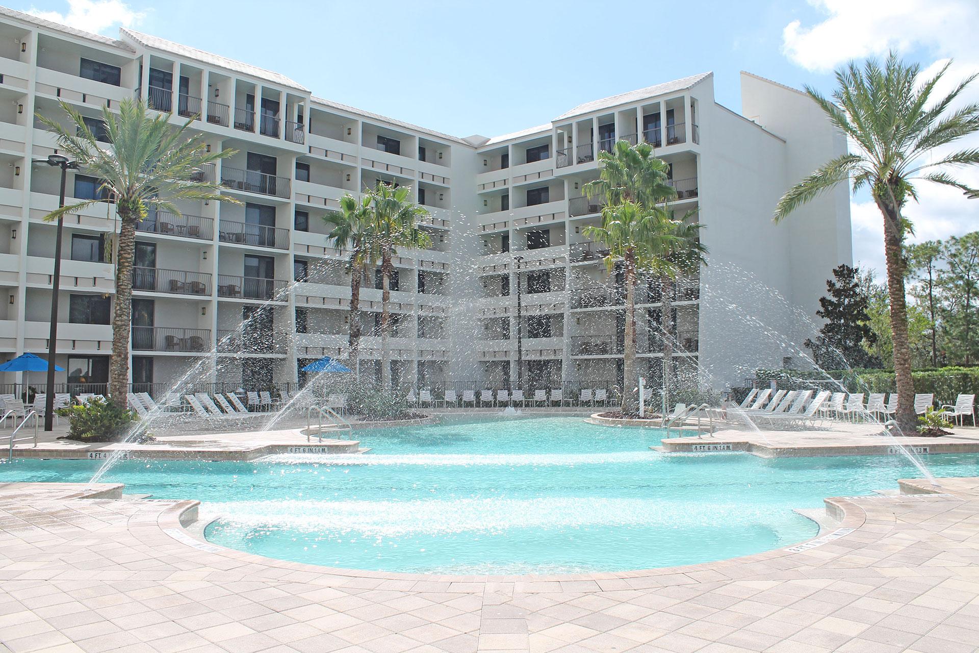 Pool at Holiday Inn Orlando Disney Springs; Courtesy of Holiday Inn Orlando Disney Springs