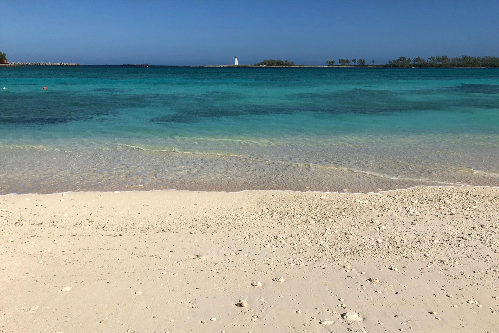 Junkanoo Beach in Nassau, Bahamas; Courtesy of Patrick Horton/Shutterstock.com