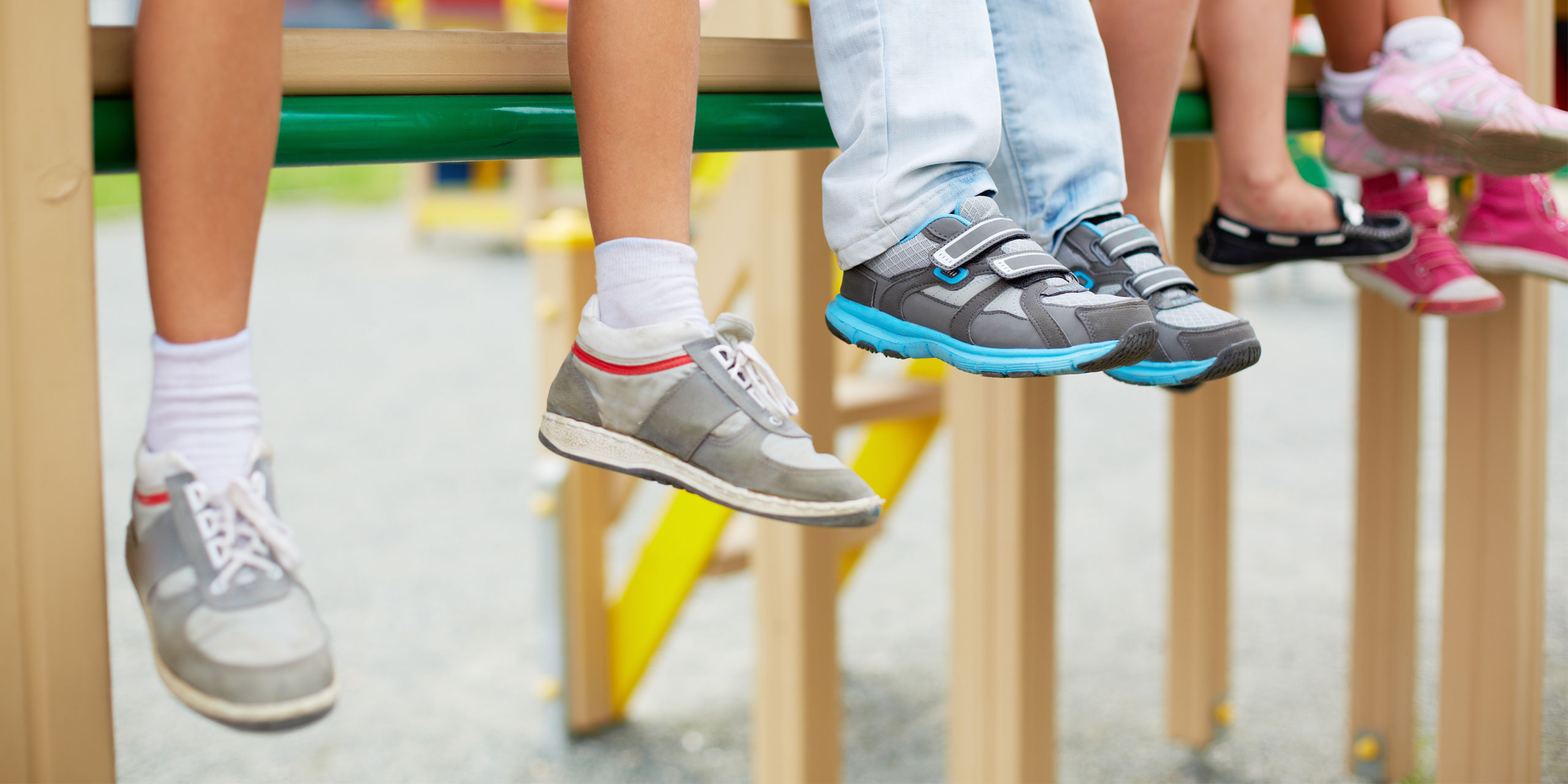 Kids Shoes; Courtesy of Pressmaster/Shutterstock.com