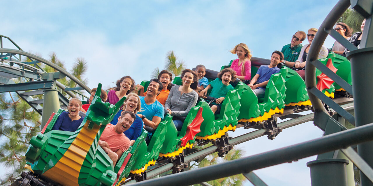 Rollercoaster at LEGOLAND New York