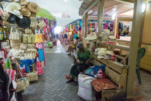 Nassau Straw Market; Courtesy of dnaveh/Shutterstock.com