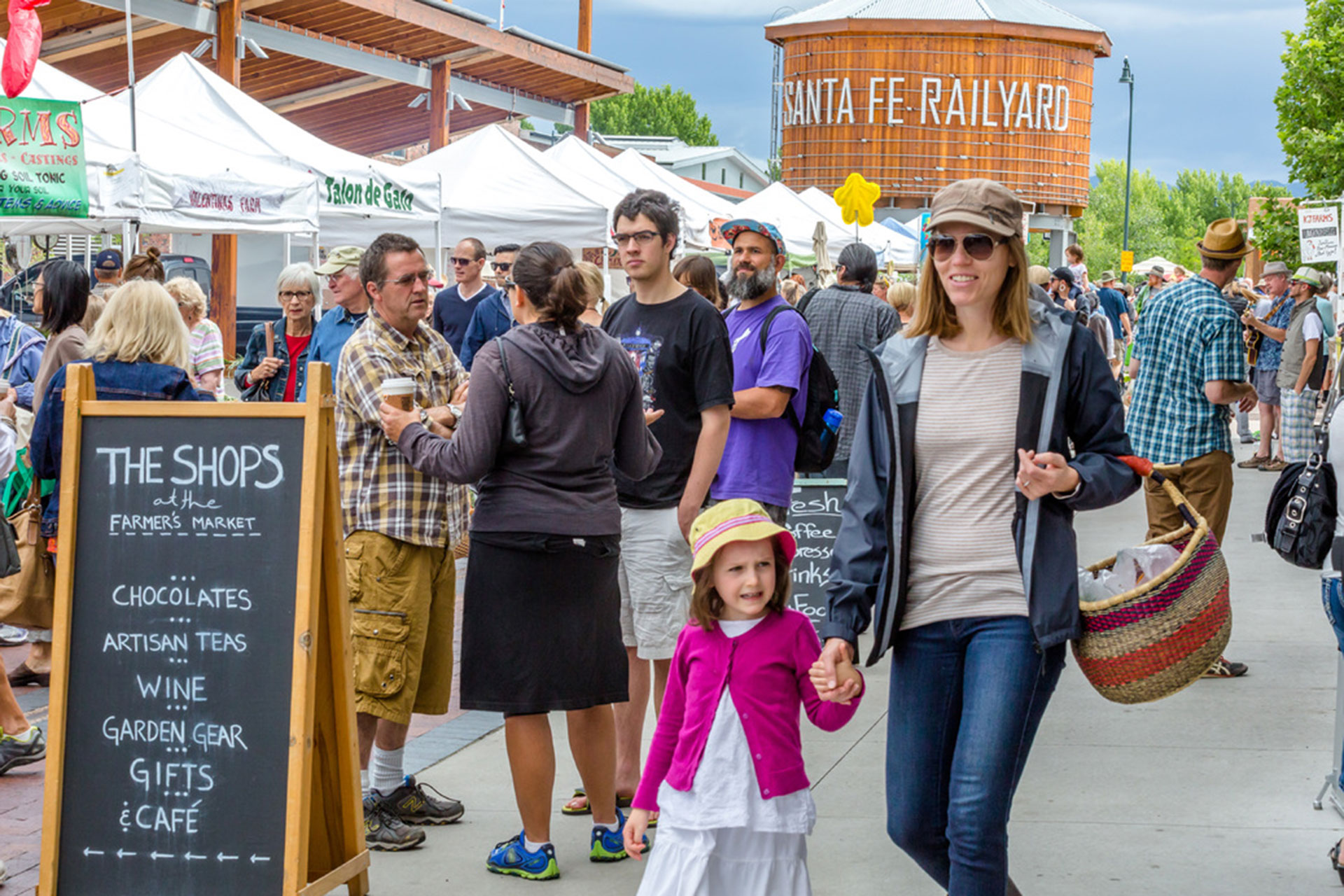 Santa Fe Farmers Market; Courtesy of Tourism Santa Fe