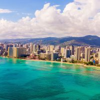 Waikiki Beach; Courtesy of Ingus Kruklitis/Shutterstock.com