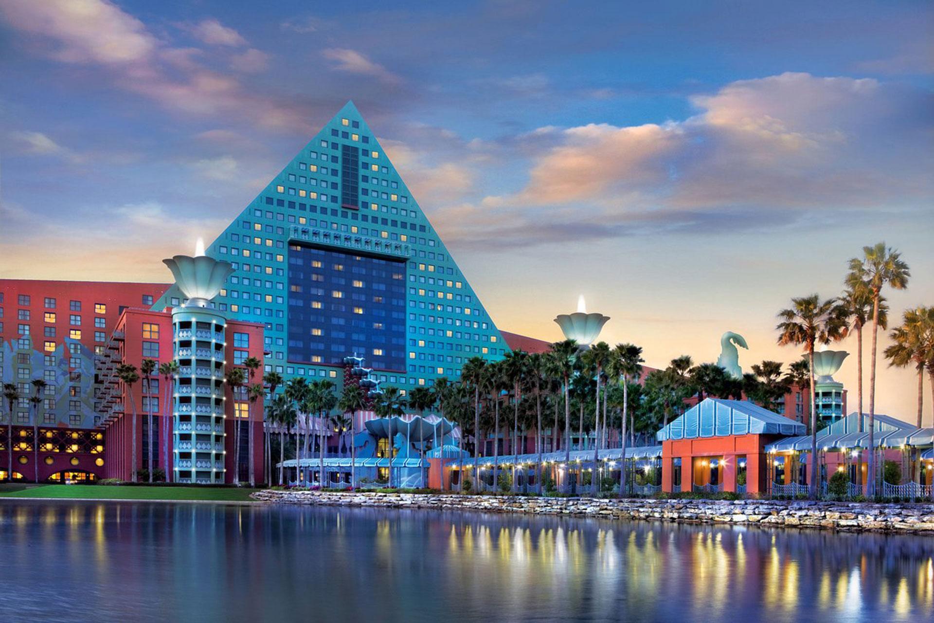 Walt Disney World Swan & Dolphin Resort; Courtesy of Walt Disney World Swan & Dolphin Resort
