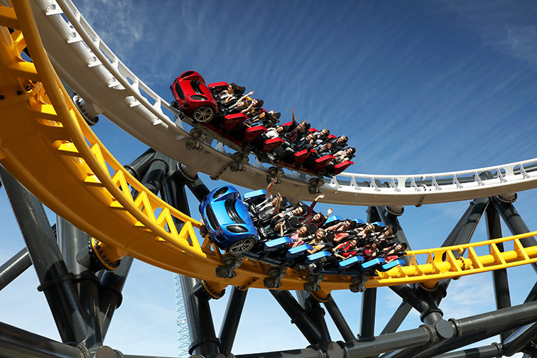 West Coast Racers at Six Flags Magic Mountain