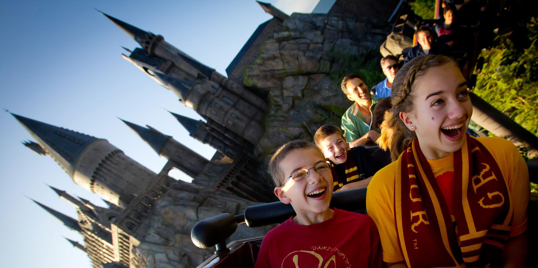 Flight of the Hippogriff at Universal Orlando's Wizarding World of Harry Potter; Courtesy of Universal Orlando Resort