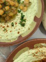Hummus at Abu Shukri in Jerusalem, Israell