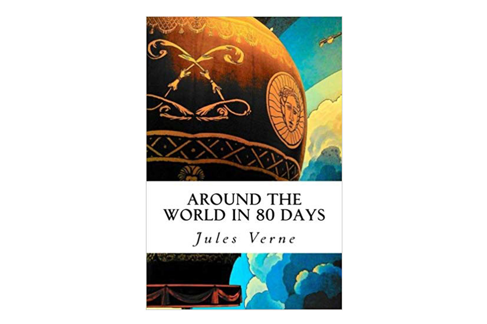 Around The World in 80 Days Book; Courtesy of Amazon