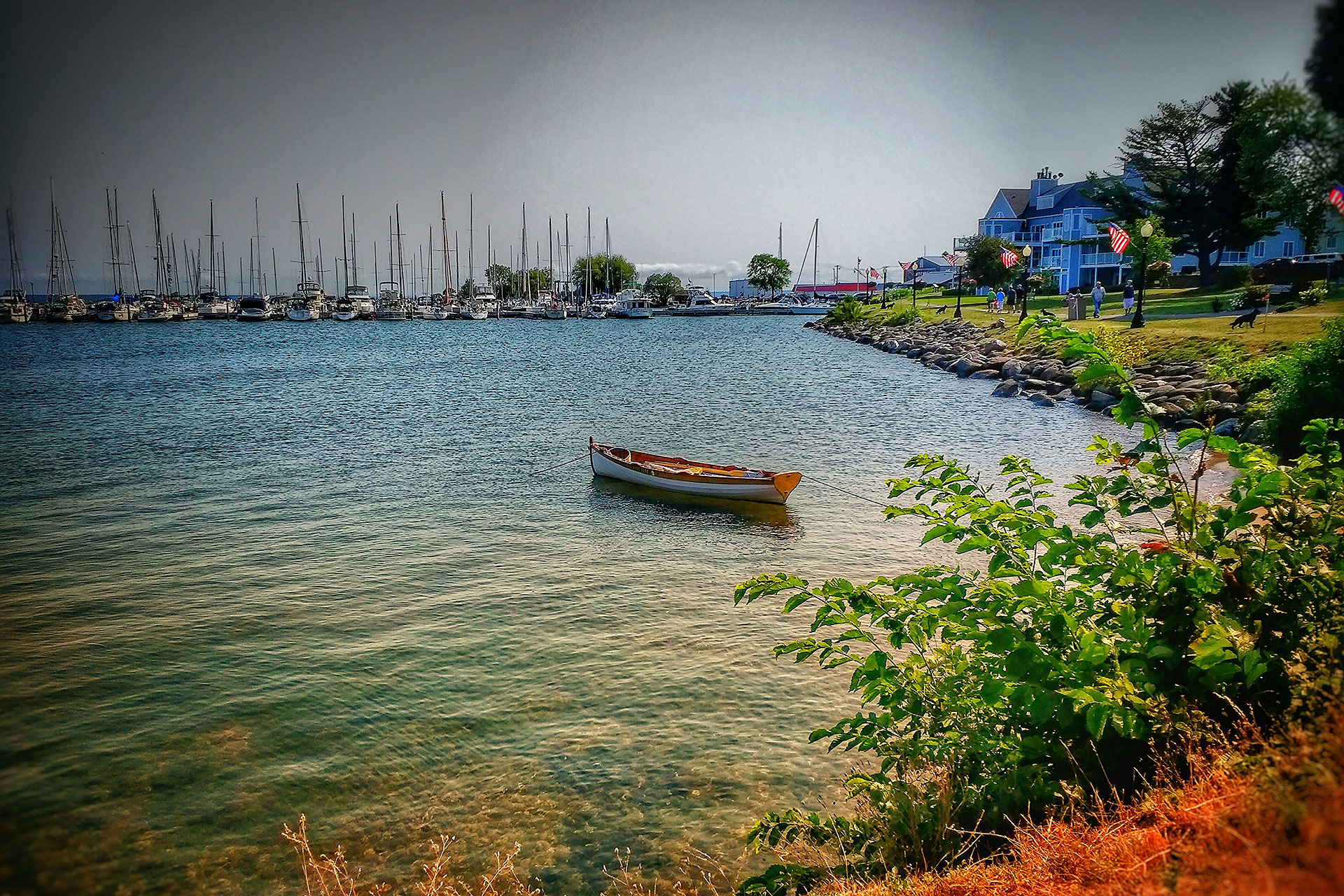 Bayfield, Wisconsin in Door County; Courtesy of charliewatson/Shutterstock.com