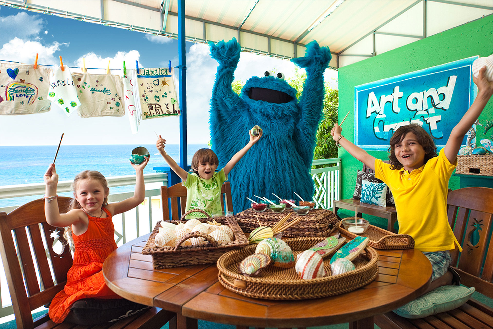 Beaches Sesame Street Program; Courtesy of Beaches Resorts