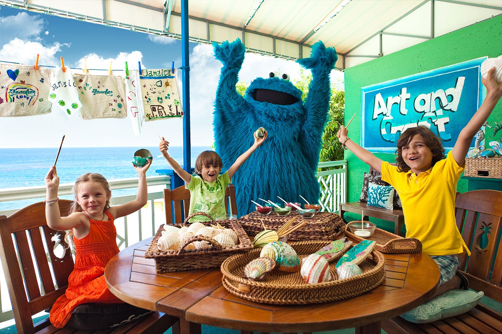 Beaches Sesame Street Program; Courtesy of Beaches Resorts