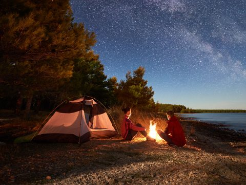 Camping At Night; Courtesy of anatoliy_gleb/Shutterstock.com