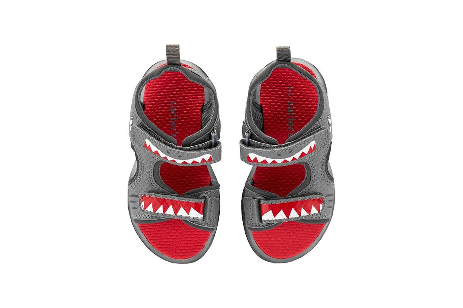 Carter's Light-Up Shark Sandals; Courtesy of Carter's