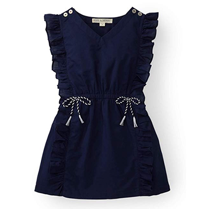 Blue coverup dress for girls