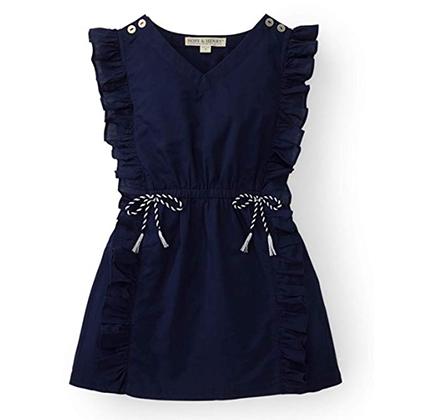 Blue coverup dress for girls