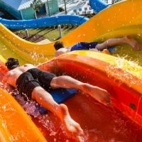 Waterslides at Encore Resort at Reunion in Florida; Courtesy of Encore Resort at Reunion