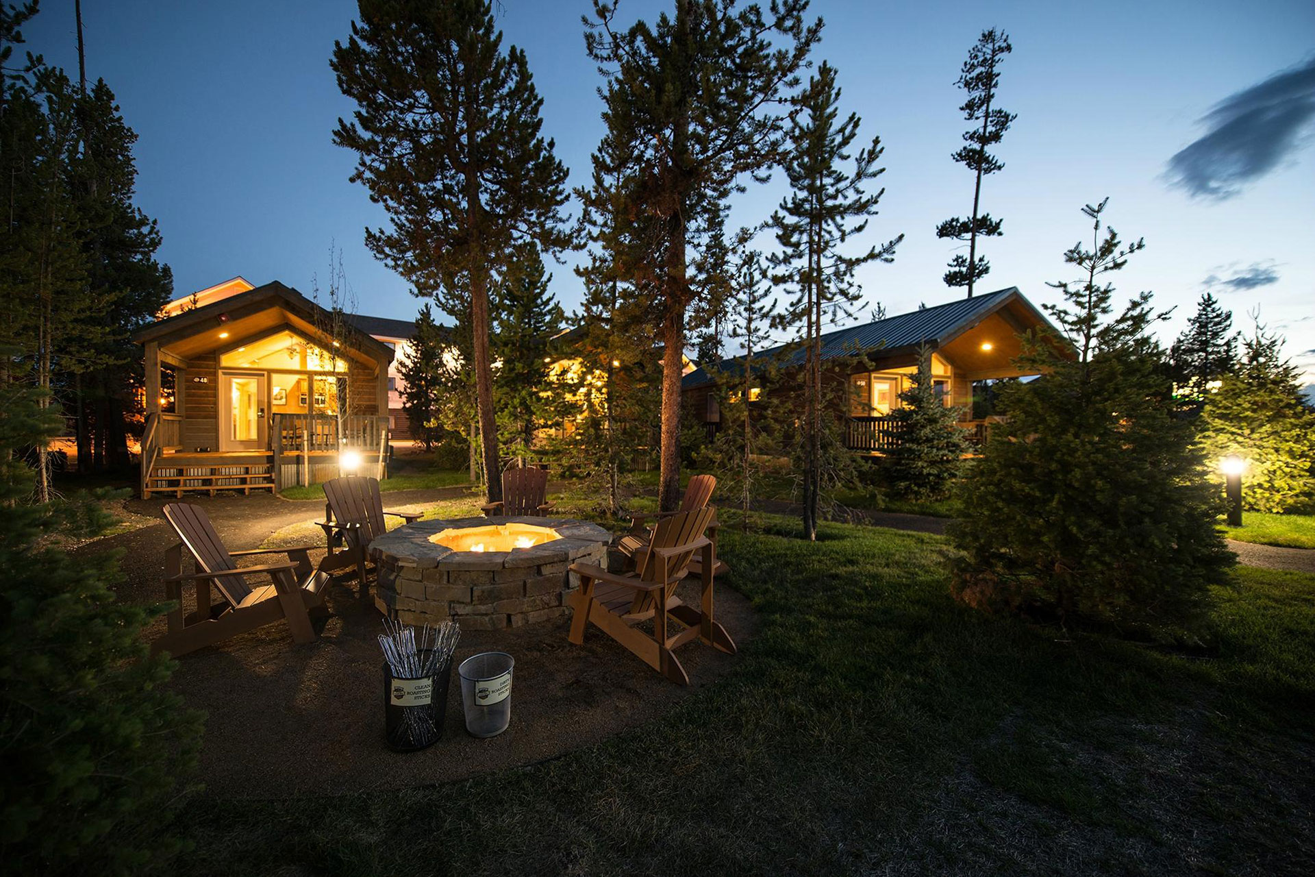 Explorer Cabins at Yellowstone; Courtesy of Explorer Cabins at Yellowstone
