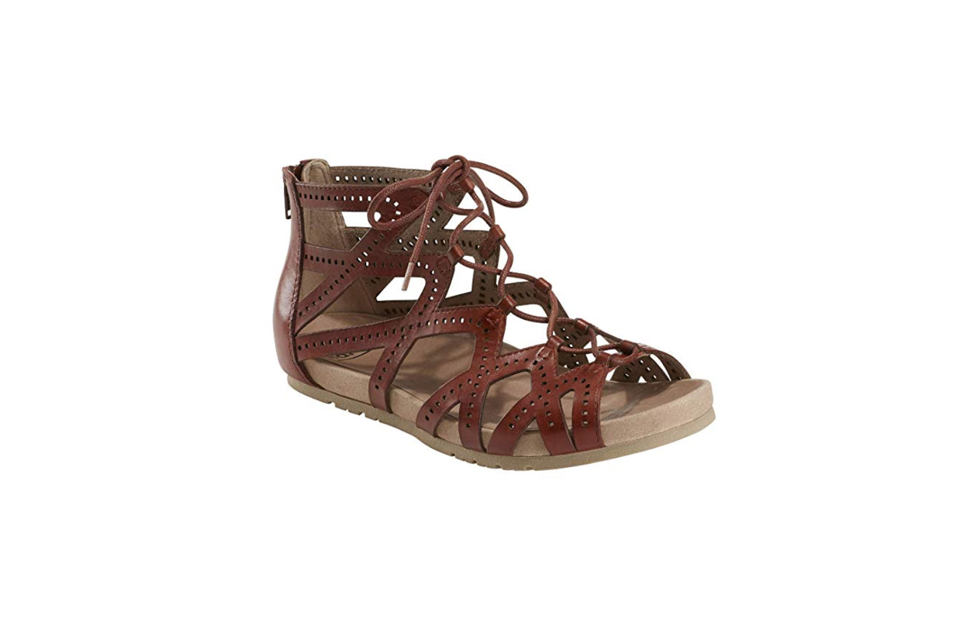 Earth Shoes Linden Gladiator Sandals; Courtesy of Amazon