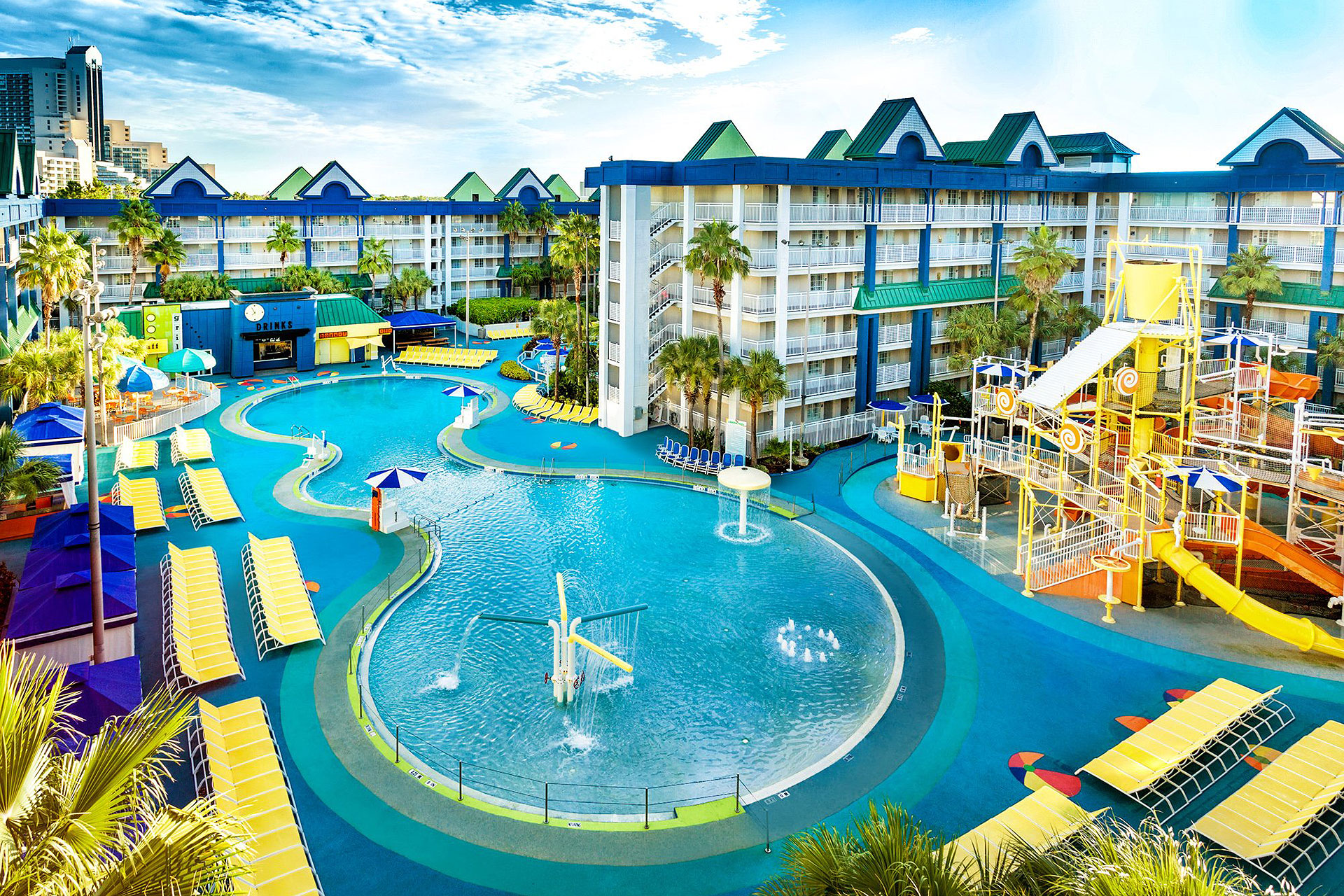 Water Park at Holiday Inn Orlando Suites - Waterpark; Courtesy of Holiday Inn Orlando Suites - Waterpark