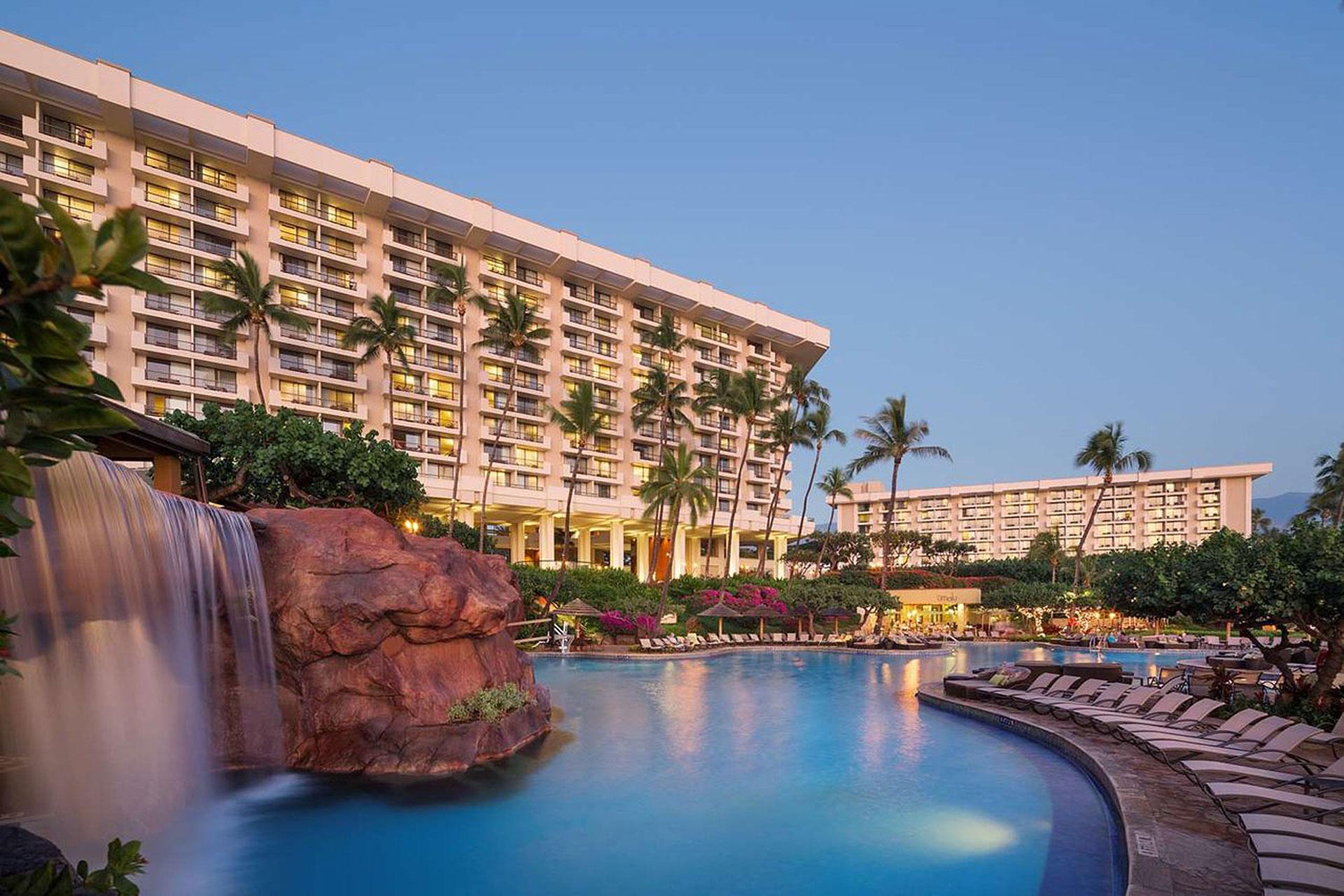 Pool at Hyatt Regency Maui Resort and Spa; Courtesy of Pool at Hyatt Regency Maui Resort and Spa