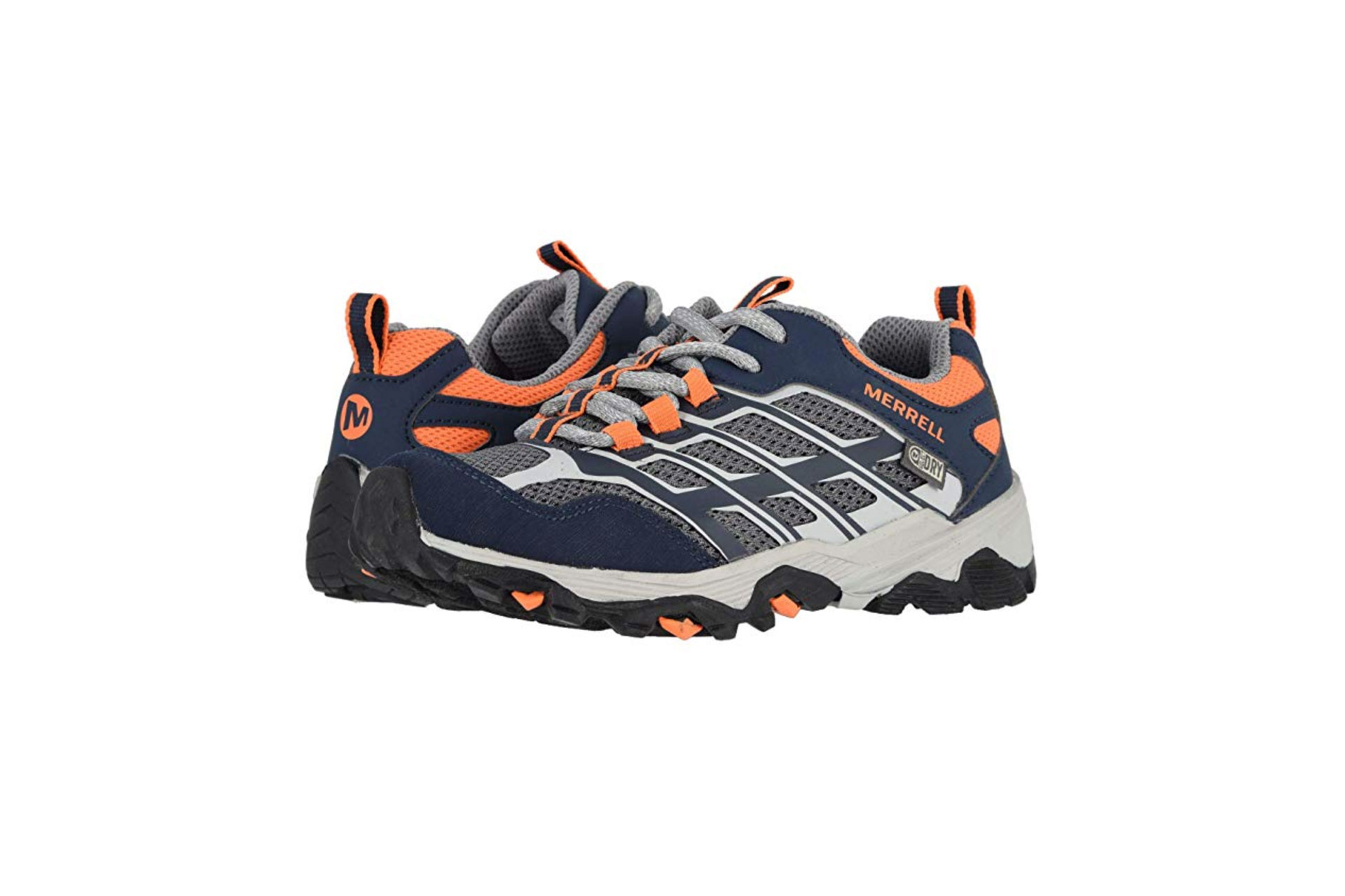 Merrell Kids Moab Low A/C Waterproof; Courtesy of Zappos