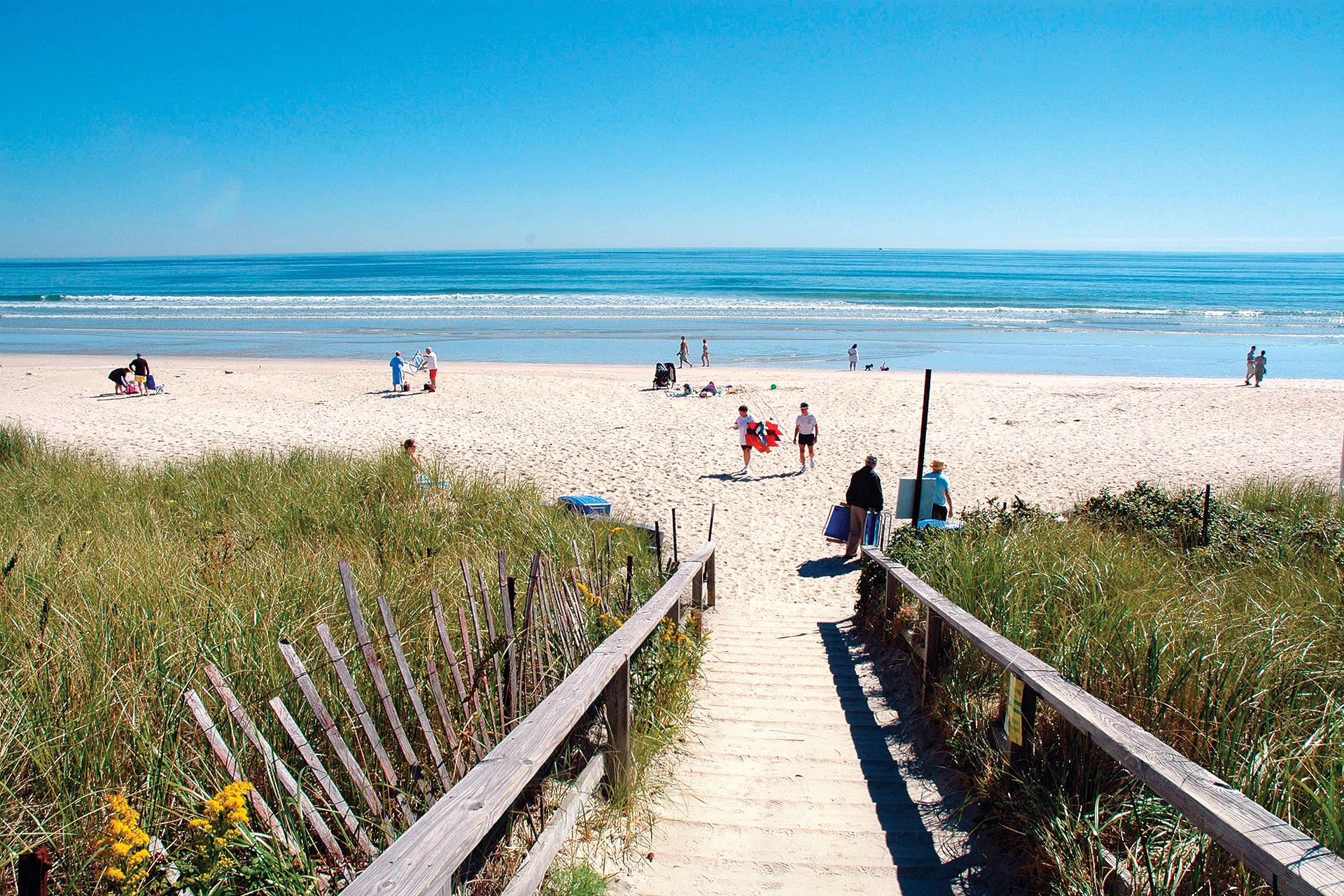 Ogunquit Beach; Courtesy of Visit Maine