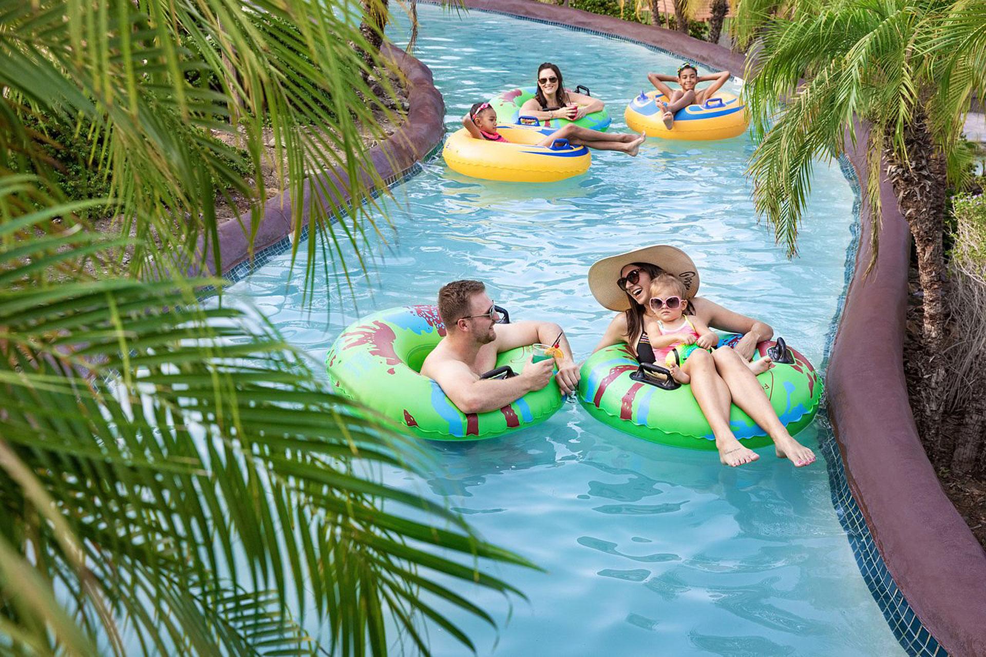Lazy River at Pointe Hilton Squaw Peak Resort in Phoenix; Courtesy of Pointe Hilton Squaw Peak Resort
