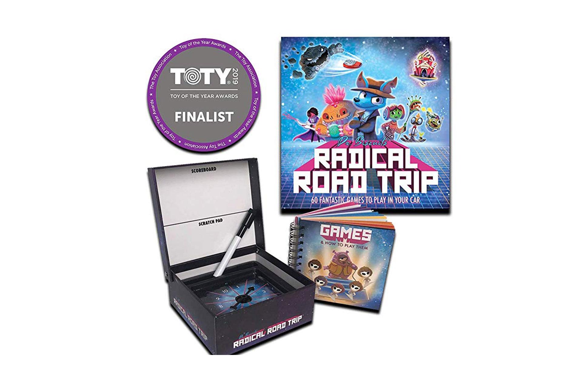 Radical Road Trip Travel Game; Courtesy of Amazon