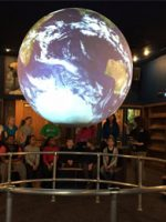 Science on a Sphere at Rochester Museum & Science Center; Courtesy of Rochester Museum & Science Center
