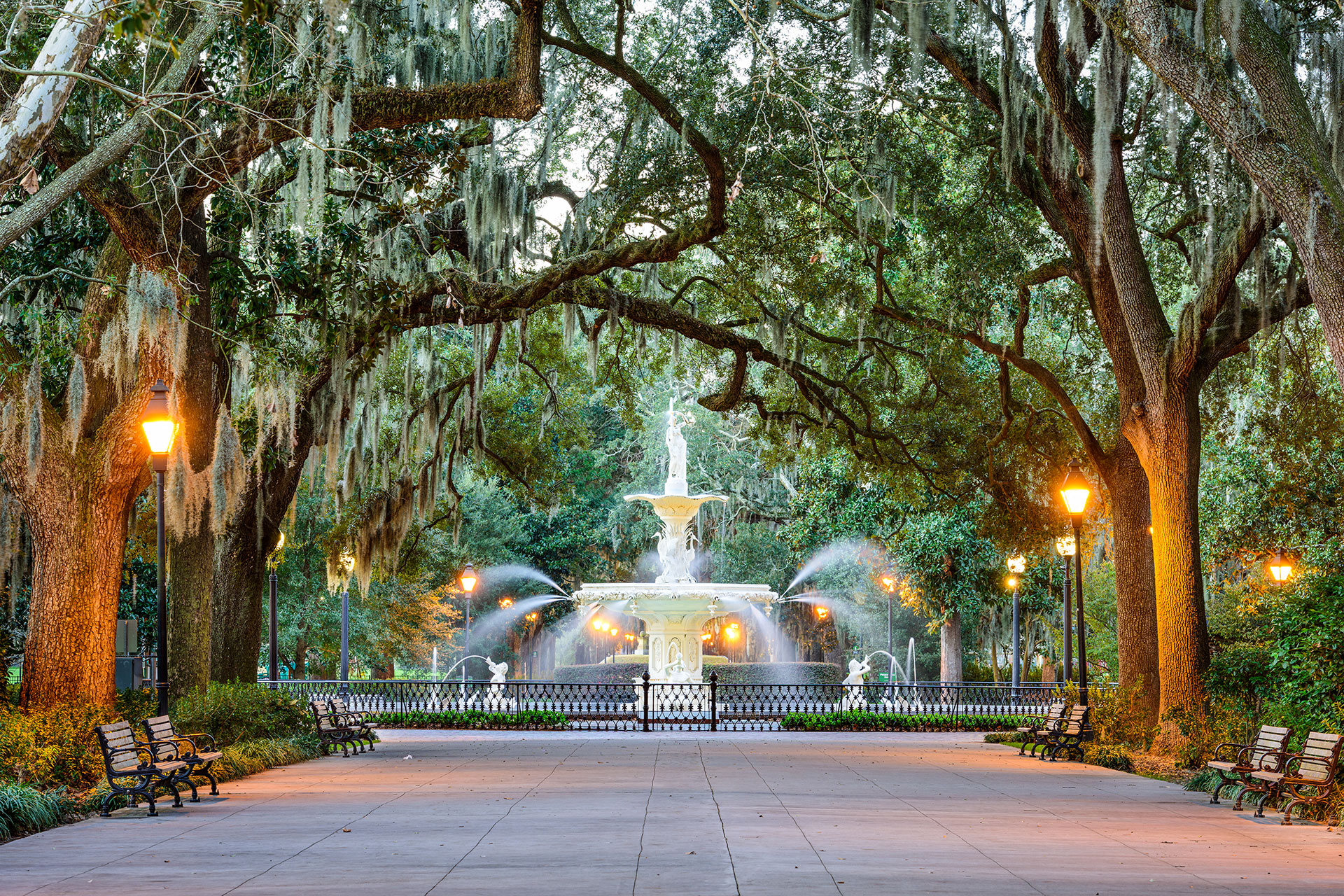 Savannah, Georgia; Courtesy of Sean Pavone/Shutterstock.com