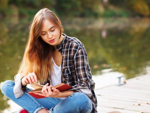 Teen Reading; Courtesy of George Dolgikh/Shutterstock.com