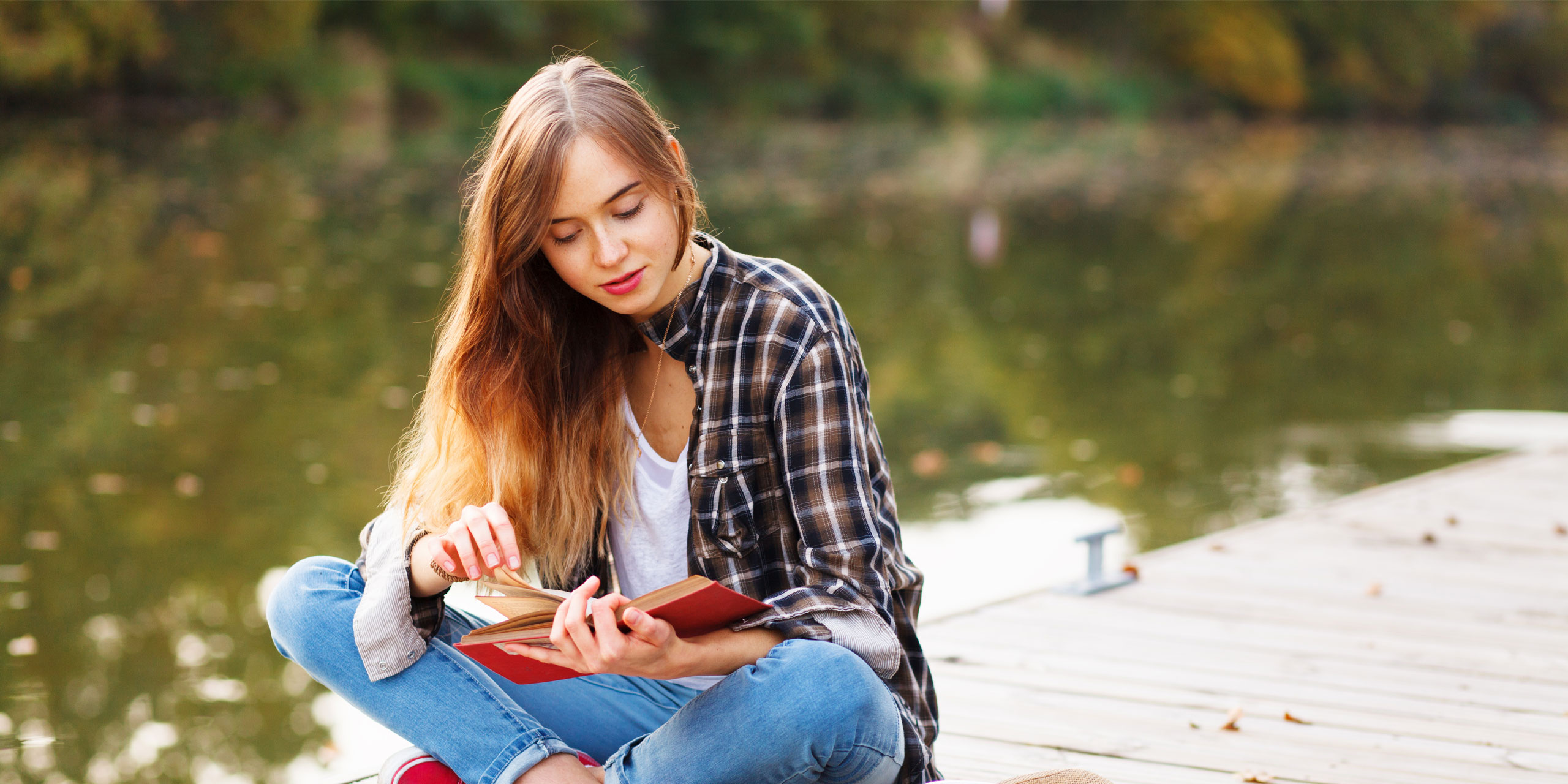 Teen Reading; Courtesy of George Dolgikh/Shutterstock.com