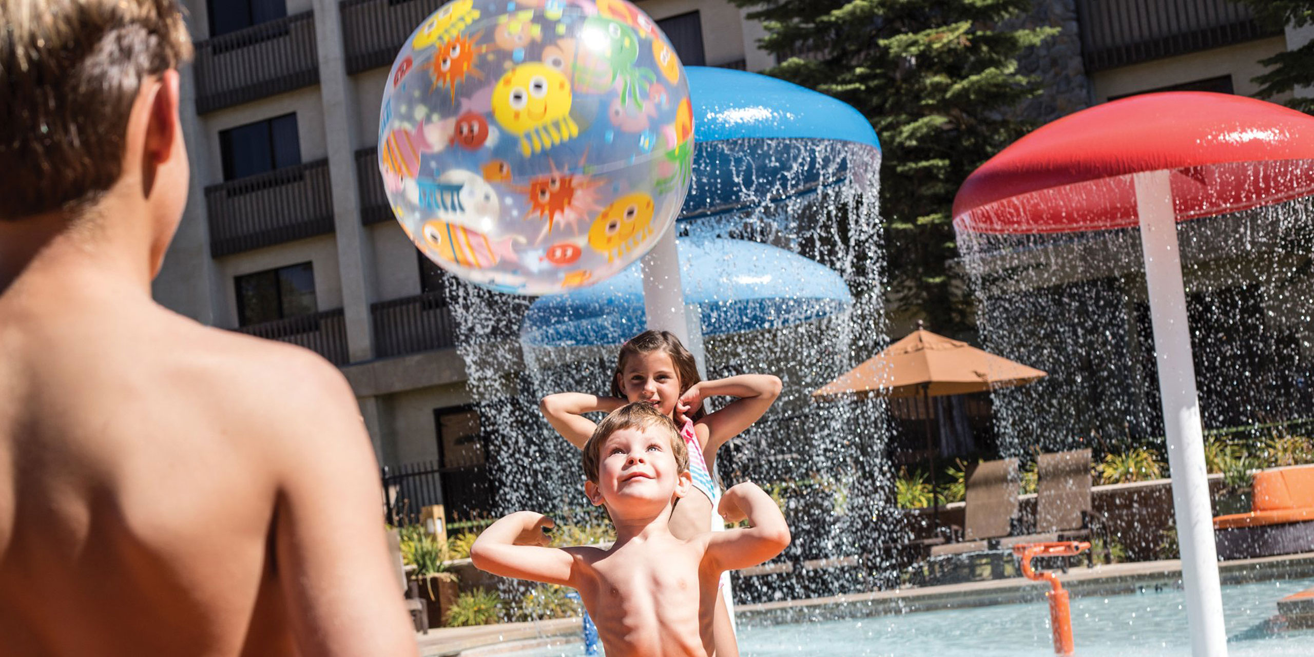 Kids' Pool at Tenaya Lodge at Yosemite; Courtesy of Tenaya Lodge at Yosemite