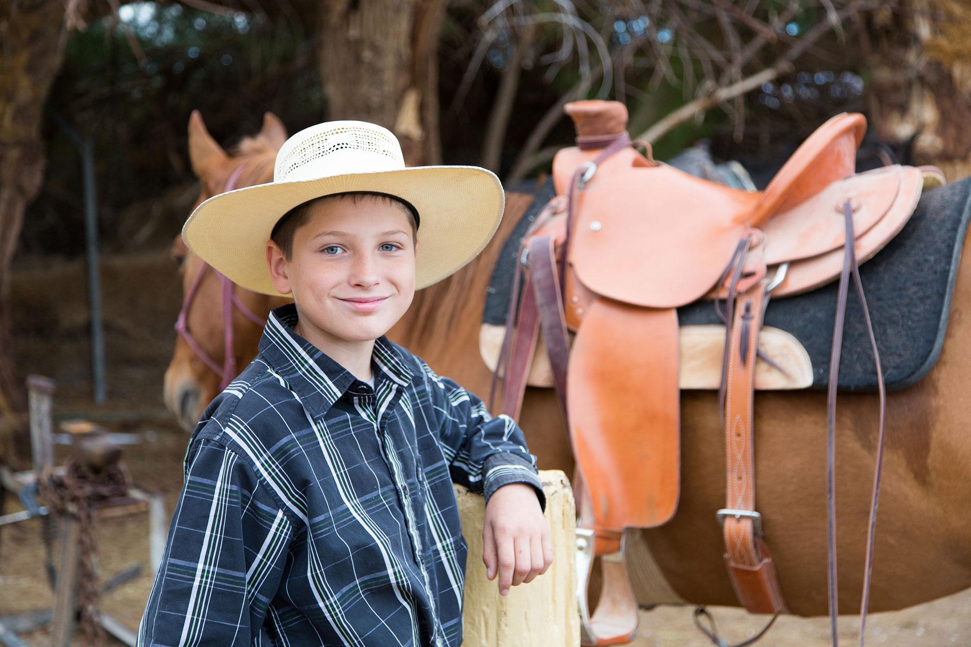 Horseback Riding at The Ranch at Death Valley; Courtesy of The Ranch at Death Valley
