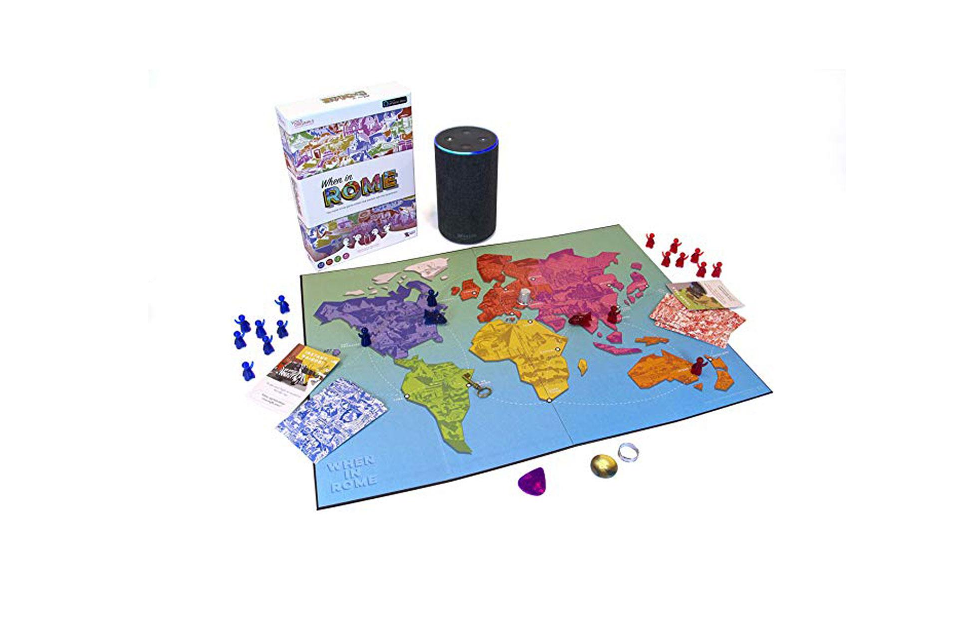 When In Rome Alexa Game; Courtesy of Amazon
