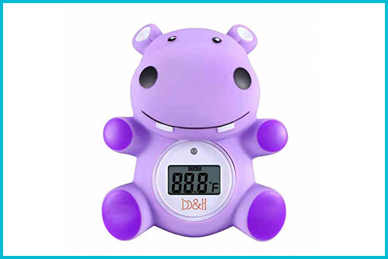 Floating Hippo Thermometer; Courtesy of Amazon