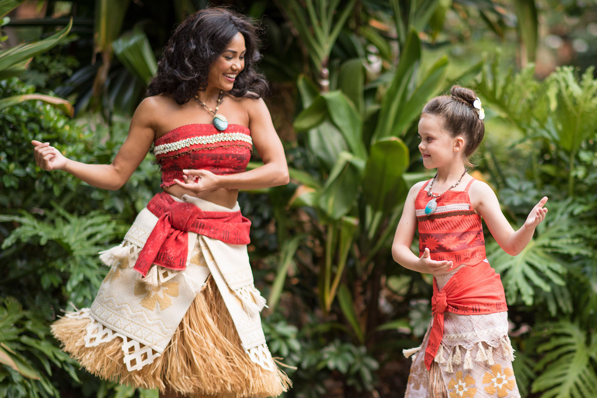 Learning to Hula Dance at Aulani, A Disney Resort & Spa; Courtesy of Aulani, A Disney Resort & Spa