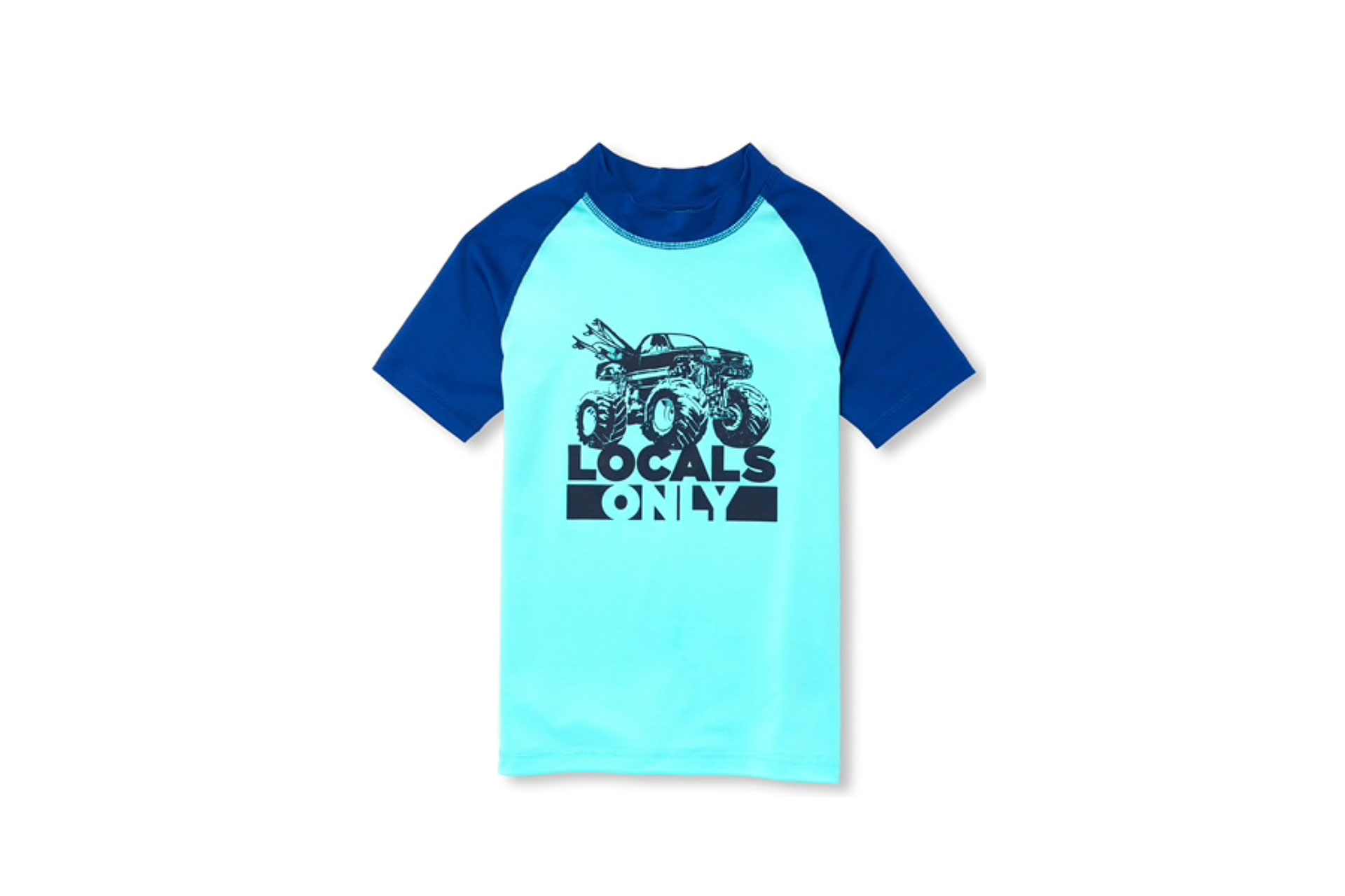 The Children's Place Rash Guard for Boys; Courtesy of The Children's Place