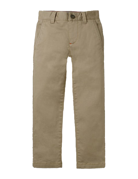 Boys' chino stretch pants